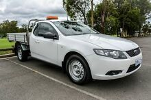 2011 Ford Falcon FG Upgrade White 6 Speed Auto Seq Sportshift Cab Chassis Wetherill Park Fairfield Area Preview