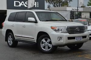 2014 Toyota Landcruiser VDJ200R MY13 Sahara Crystal Pearl 6 Speed Sports Automatic Wagon Claremont Nedlands Area Preview