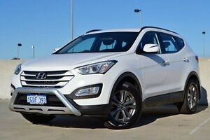 2013 Hyundai Santa Fe DM MY14 Active White 6 Speed Sports Automatic Wagon Woodbridge Swan Area Preview