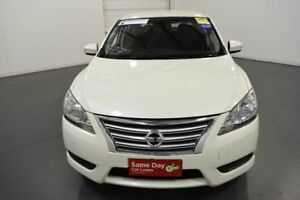 2013 Nissan Pulsar B17 ST White Diamond Continuous Variable Sedan