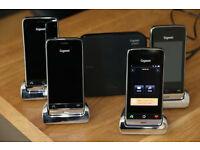 Cordless Phone Set - Siemens Gigaset SL910A Quad