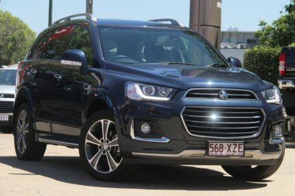 2017 Holden Captiva CG MY18 LTZ AWD Blue 6 Speed Sports Automatic Wagon East Toowoomba Toowoomba City Preview