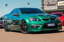 2009 Holden Special Vehicles Maloo E Series 2 R8 Green 6 Speed Sports Automatic Utility Fremantle Fremantle Area Preview