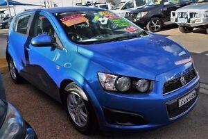 2012 Holden Barina MY12 TK Blue Automatic Hatchback Minchinbury Blacktown Area Preview