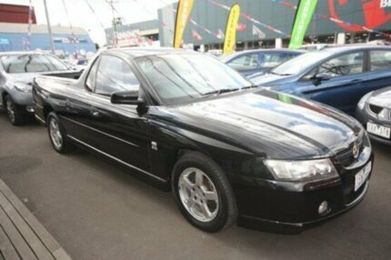 2004 Holden Ute VZ S Black 4 Speed Automatic Utility