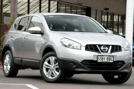 2013 Nissan Dualis J10W Series 4 MY13 ST Hatch X-tronic 2WD Silver 6 Speed Constant Variable Christies Beach Morphett Vale Area Preview