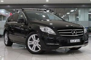 2012 Mercedes-Benz R 251 MY11 350 CDI LWB (AWD) Black 7 Speed Automatic G-Tronic Wagon Waterloo Inner Sydney Preview