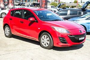 2011 Mazda 3 BL10F1 MY10 Neo Activematic Red 5 Speed Sports Automatic Hatchback Blacktown Blacktown Area Preview