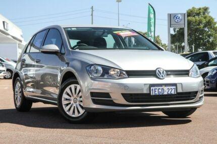 2012 Volkswagen Golf VII 90TSI DSG Gold 7 Speed Sports Automatic Dual Clutch Hatchback