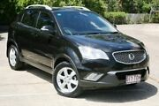 2013 Ssangyong Korando C200 SX Black 6 Speed Automatic Wagon Slacks Creek Logan Area Preview