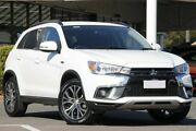 2017 Mitsubishi ASX XC MY18 LS 2WD White 6 Speed Constant Variable Wagon Christies Beach Morphett Vale Area Preview