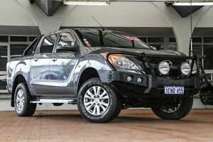 2012 Mazda BT-50 UP0YF1 XTR Grey 6 Speed Manual Utility Willagee Melville Area Preview