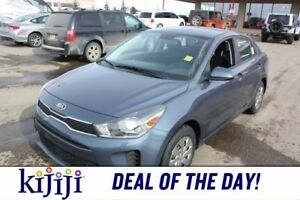2018 Kia Rio LX BACK UP CAMERA, HEATED SEATS, HEATED STEERING W