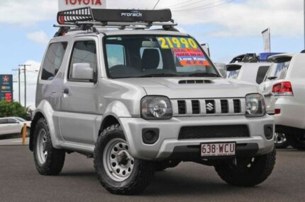 2015 Suzuki Jimny SN413 T6 Sierra Silver 5 Speed Manual Hardtop Monkland Gympie Area Preview