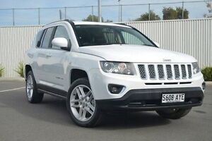 2013 Jeep Compass MK MY13 Limited CVT Auto Stick White 6 Speed Constant Variable Wagon Nailsworth Prospect Area Preview