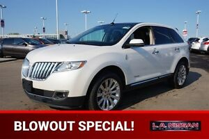 2012 Lincoln MKX AWD LIMITED Navigation (GPS),  Leather,  Heated