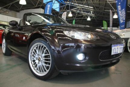 2006 Mazda MX-5 NC Limited Deep Plum Mica 6 Speed Manual Convertible Victoria Park Victoria Park Area Preview