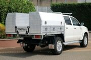 2014 Toyota Hilux KUN26R MY14 SR5 Double Cab White 5 Speed Automatic Utility Wayville Unley Area Preview