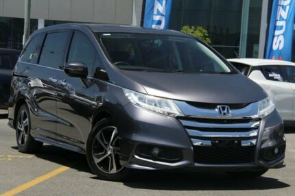 2014 Honda Odyssey RC MY14 VTi-L Grey 7 Speed Constant Variable Wagon Nundah Brisbane North East Preview