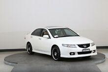 2004 Honda Accord Euro Luxury White 6 Speed Manual Sedan Smithfield Parramatta Area Preview