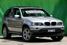 2003 BMW X5 E53 3.0I Silver 5 Speed Auto Steptronic Wagon Ringwood East Maroondah Area Preview