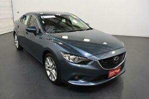2014 Mazda 6 GJ1031 Atenza SKYACTIV-Drive Blue Sports Automatic Sedan Moorabbin Kingston Area Preview