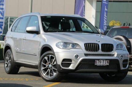 2012 BMW X5 E70 MY12.5 xDrive30d Steptronic Silver 8 Speed Sports Automatic Wagon