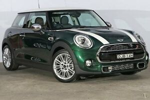 2016 Mini Hatch F56 Cooper S British Racing Green 6 Speed Automatic Hatchback Alexandria Inner Sydney Preview