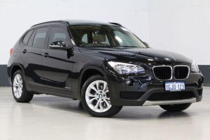 2013 BMW X1 E84 MY14 sDrive 20I Black 8 Speed Automatic Wagon