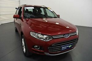 2014 Ford Territory SZ TS (RWD) Red 6 Speed Automatic Wagon Moorabbin Kingston Area Preview