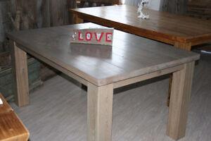 table en bois de grange La Viking