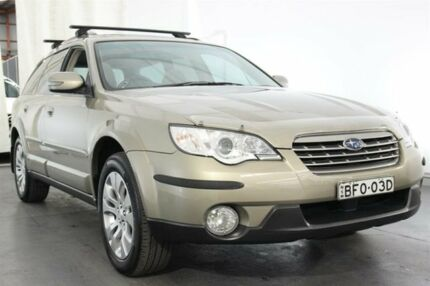 2008 Subaru Outback B4A MY08 R AWD Premium Pack Gold 5 Speed Sports Automatic Wagon Maryville Newcastle Area Preview