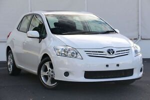 2012 Toyota Corolla ZRE152R MY11 Conquest White 4 Speed Automatic Hatchback Upper Ferntree Gully Knox Area Preview