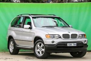 2003 BMW X5 E53 Steptronic Silver 5 Speed Sports Automatic Wagon Ringwood East Maroondah Area Preview