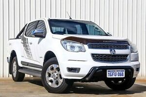 2014 Holden Colorado RG MY15 Storm Crew Cab White 6 Speed Sports Automatic Utility Willetton Canning Area Preview