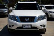 2014 Nissan Pathfinder R52 MY14 ST-L X-tronic 4WD Alpine White 1 Speed Constant Variable Wagon Frankston Frankston Area Preview