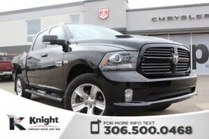 2015 Ram 1500 Sport - Sunroof - Heated/Cooled Leather Seats - Na