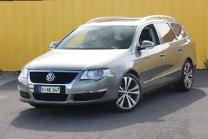 2006 Volkswagen Passat Type 3C TDI DSG Grey 6 Speed Sports Automatic Dual Clutch Wagon Heatherton Kingston Area Preview