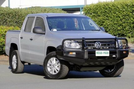 2014 Volkswagen Amarok 2H MY14 TDI420 4Motion Perm Silver 8 Speed Automatic Utility Acacia Ridge Brisbane South West Preview