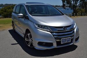 2014 Honda Odyssey RC MY14 VTi-L Silver 7 Speed Constant Variable Wagon Claremont Nedlands Area Preview