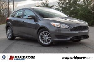 2017 Ford Focus SE NO ACCIDENTS, BC CAR, SUPER LOW KILOMETRES!