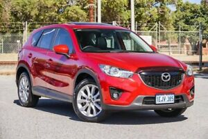 2013 Mazda CX-5 KE1021 MY13 Grand Touring SKYACTIV-Drive AWD Red 6 Speed Sports Automatic Wagon Gosnells Gosnells Area Preview