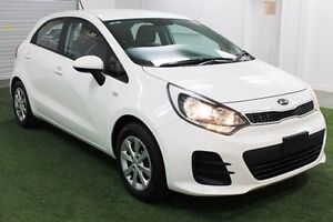 2016 Kia Rio UB MY16 S White 4 Speed Sports Automatic Hatchback Hobart CBD Hobart City Preview