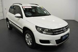 2011 Volkswagen Tiguan 5NC MY12 103 TDI White 7 Speed Automatic Wagon Moorabbin Kingston Area Preview