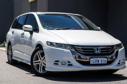 2012 Honda Odyssey 4th Gen MY12 Luxury White 5 Speed Sports Automatic Wagon Osborne Park Stirling Area Preview