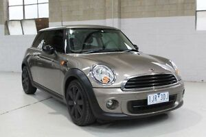 2012 Mini Hatch R56 LCI Cooper Grey Manual Hatchback Knoxfield Knox Area Preview