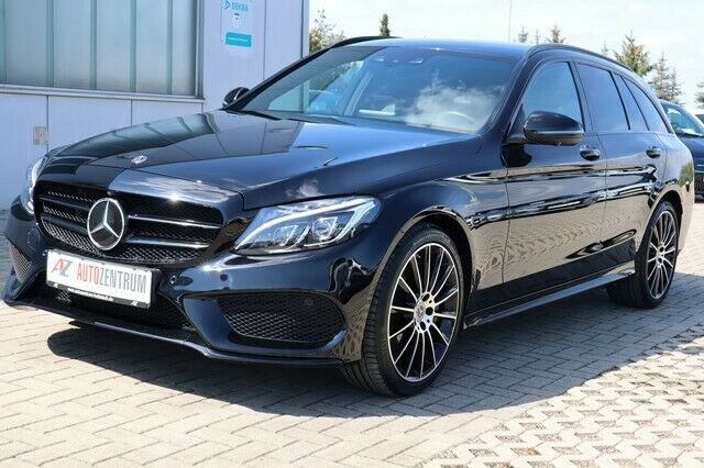Mercedes-Benz C 400 T AMG Line 4Matic LED ILS HUD 19* ALU