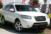 2007 Hyundai Santa Fe CM MY08 SLX White 5 Speed Sports Automatic Wagon Kedron Brisbane North East Preview