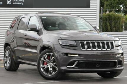 2014 Jeep Grand Cherokee WK MY15 SRT Grey 8 Speed Sports Automatic Wagon Adelaide CBD Adelaide City Preview