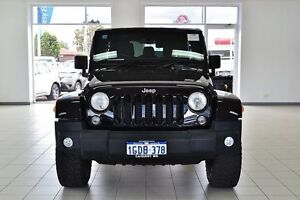2014 Jeep Wrangler Unlimited JK MY13 Sport (4x4) Black 5 Speed Automatic Softtop Morley Bayswater Area Preview